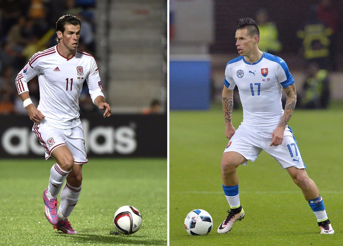 Galles vs Slovacchia vuol dire anche Bale vs Hamsik