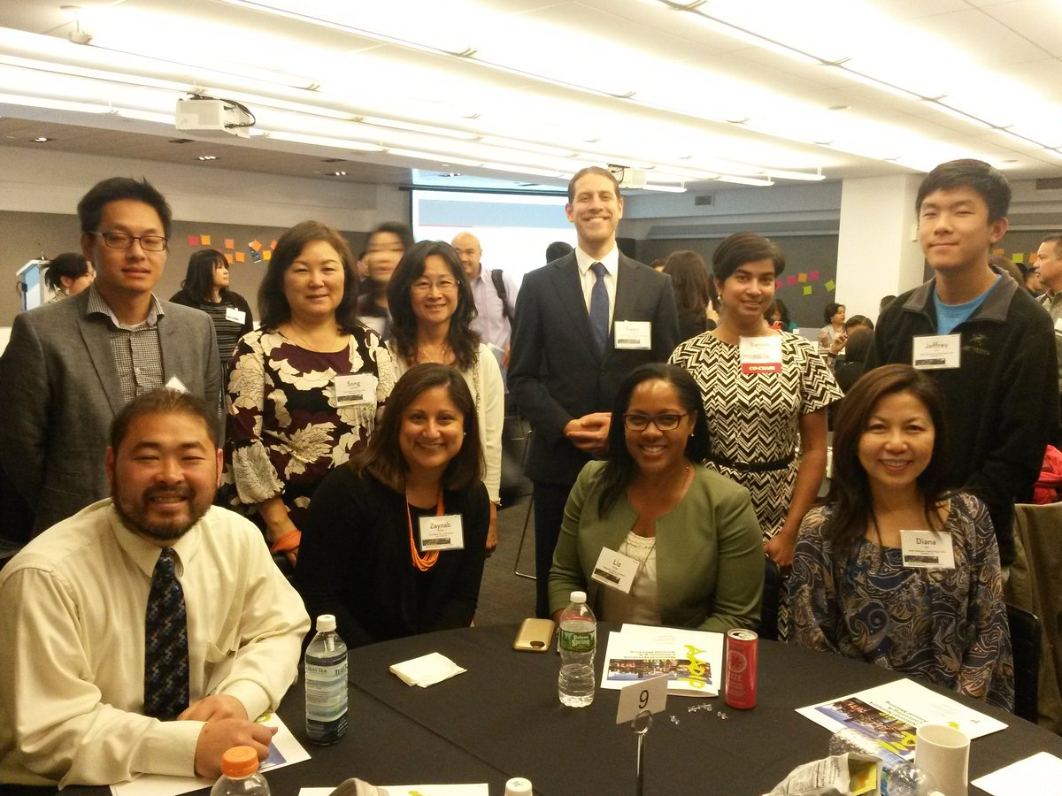Table #9 #aapip2016 convening picture! https://t.co/TAB84Gg9UK