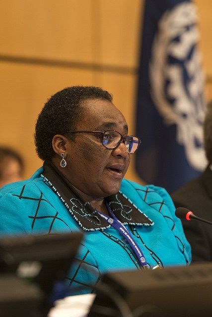 The #futureofwork will be about young people: Minister Mildred Oliphant of #SouthAfrica & #ILC2016 President https://t.co/nO9vCXD8l5