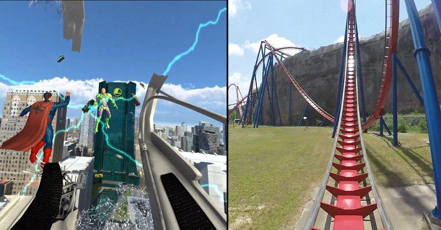 Superman virtual-reality coaster takes flight at Six Flags