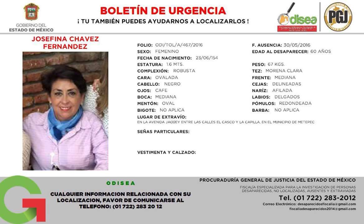 En Metepec desaparecieron a una compañera del @itesmtoluca y a su mamá. Agradezco apoyo para difundir información. https://t.co/aK2uOFcgxu