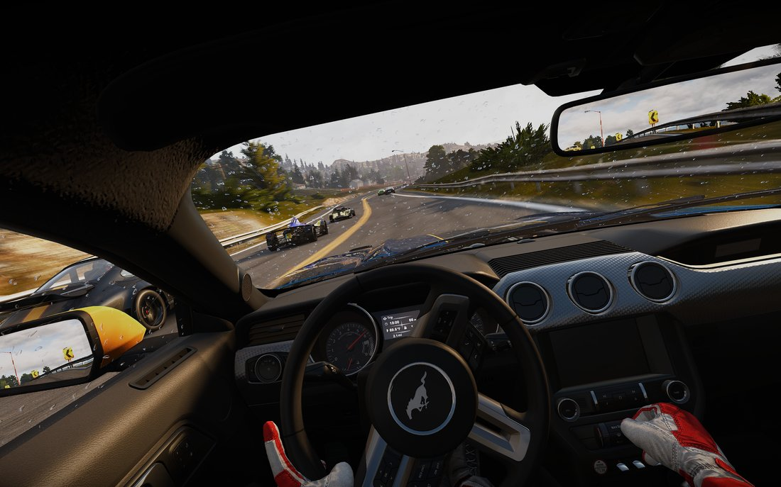 Virtual Reality in Project CARS
