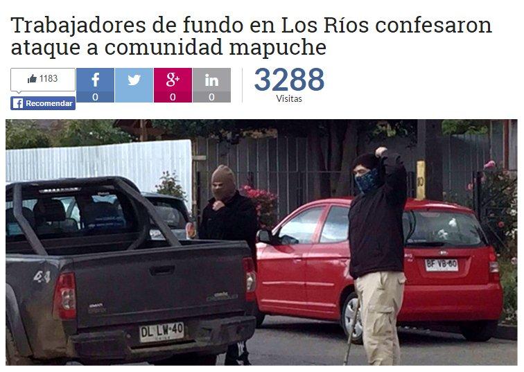 No será portada en El Mercurio. Tampoco tendrá minutos en los noticieros https://t.co/mXJ7z5j1em https://t.co/jnKrjA86AY
