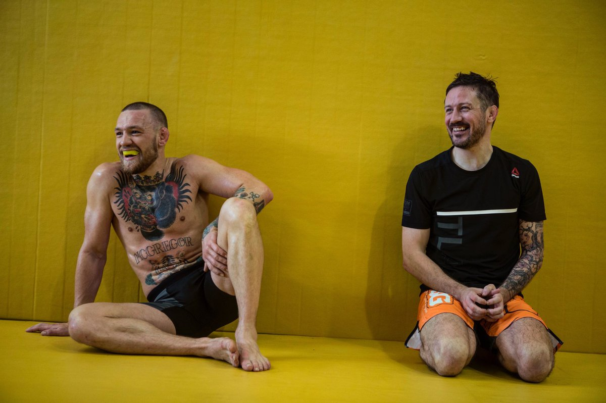 """Conor McGregor on Twitter: """"Having fun preparing for our ..."""