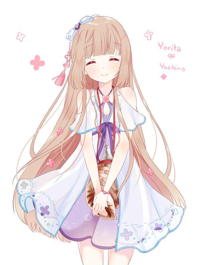 依田芳乃 らくがき 🐚 ~ my lovely idol daughter ( ´ //▽// ` ) pic.twitter.com/HrvrZ5KlO9