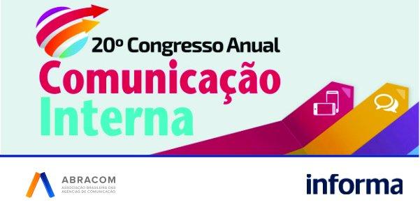 Associados Abracom têm 30% de desconto no 20º Congresso Anual de  Comunicação Interna. Veja: https://t.co/c7EWoiDpCZ https://t.co/qs5QgzY8wC