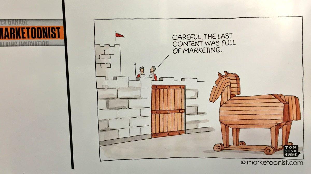 Ha ha ha ... I love this cartoon from the latest issue of CCO magazine. #CMWorld https://t.co/4SOORAjnRF