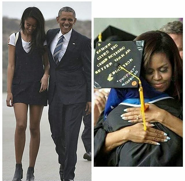 President Obama Says Graduating Daughter Malia Is 39 Very Eager 39 to