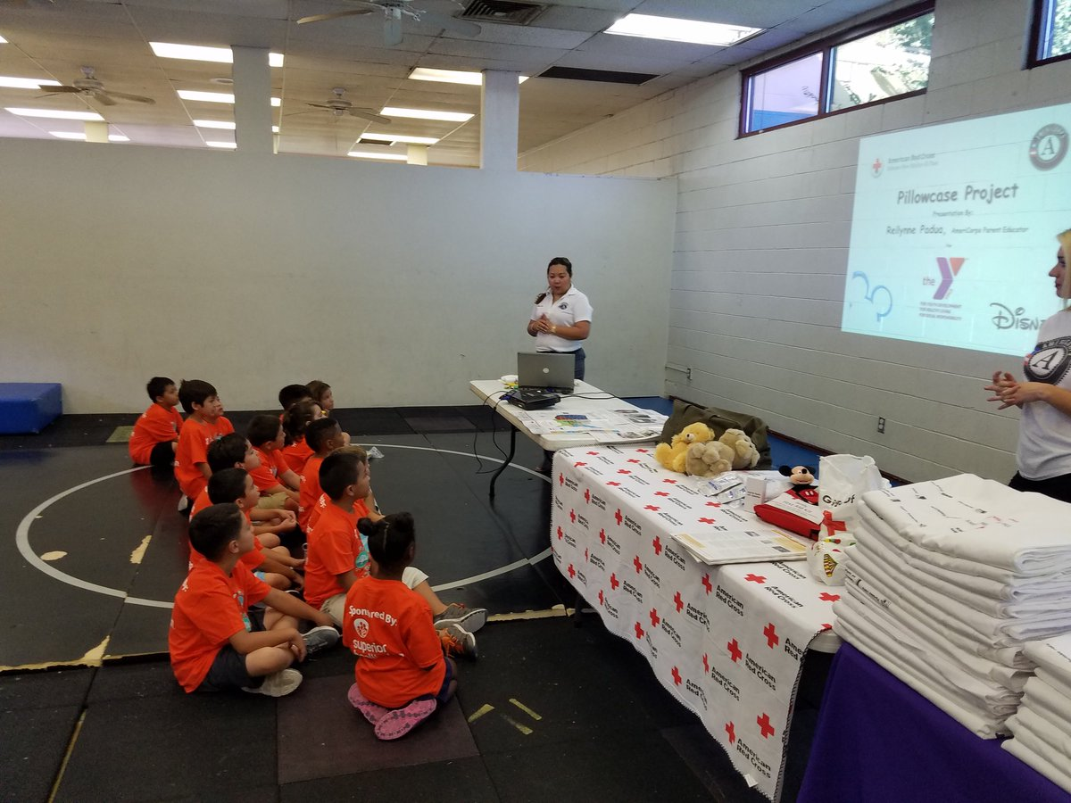 """YMCA of El Paso on Twitter: """"Pillow Case Project at Loya Family YMCA. #BeCauseY https://t.co/BVKjJhPYaH"""""""