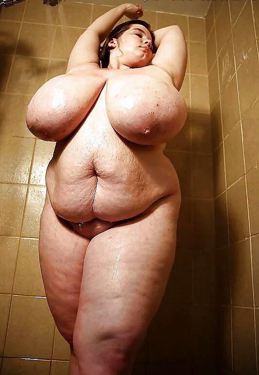 Толстые голые фото жирные
