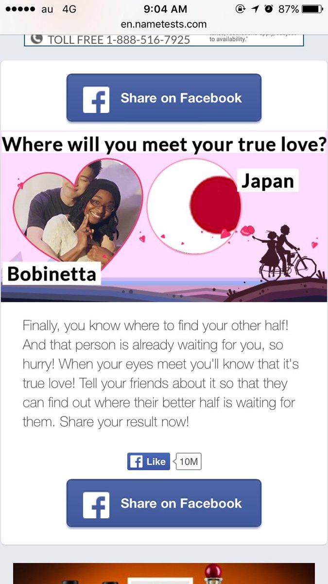 Nametests love life
