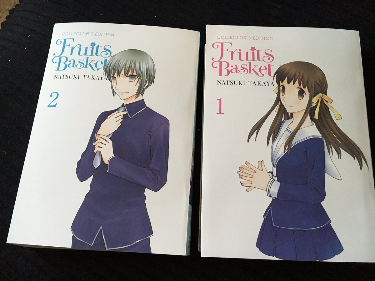 Deb Aoki On Twitter Oh My Stars Look How Nice The New Edition Of Fruits Basket From Yenpress Looks Tco 9HdHWvTHB9