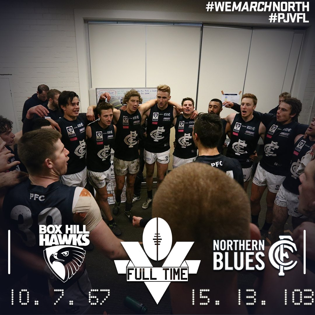 UP THE NORTHERN! #WeMarchNorth #PJVFL https://t.co/ECuVVWdMjC