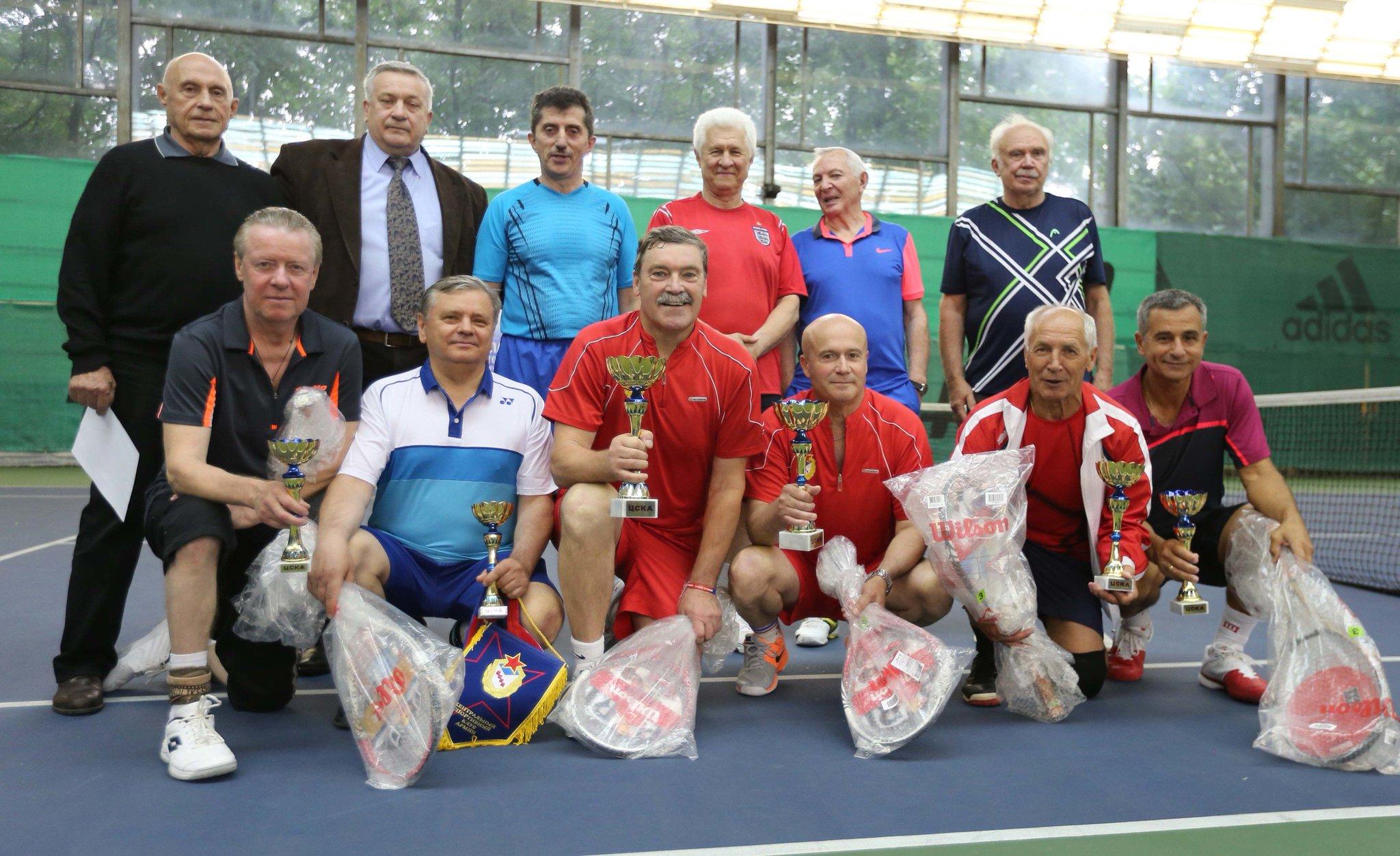 Фото ветеранов тенниса