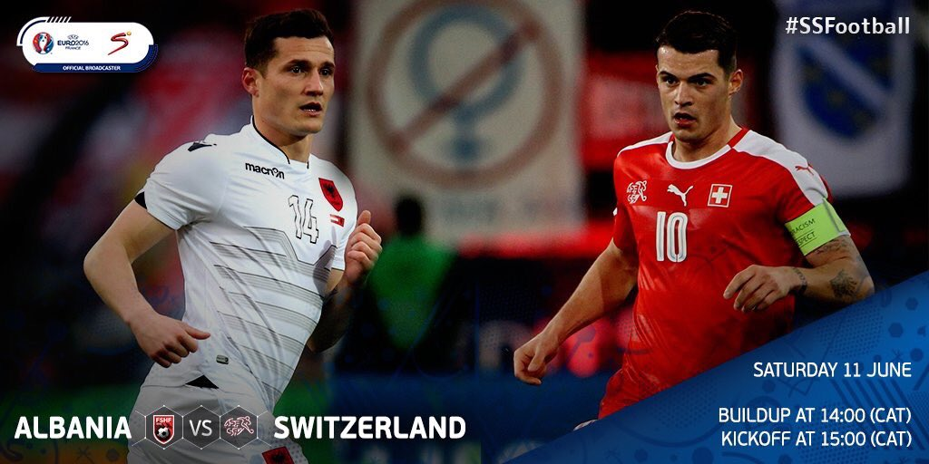 Albania Vs Switzerland You Can Watch The On Ss3 Channel 203
