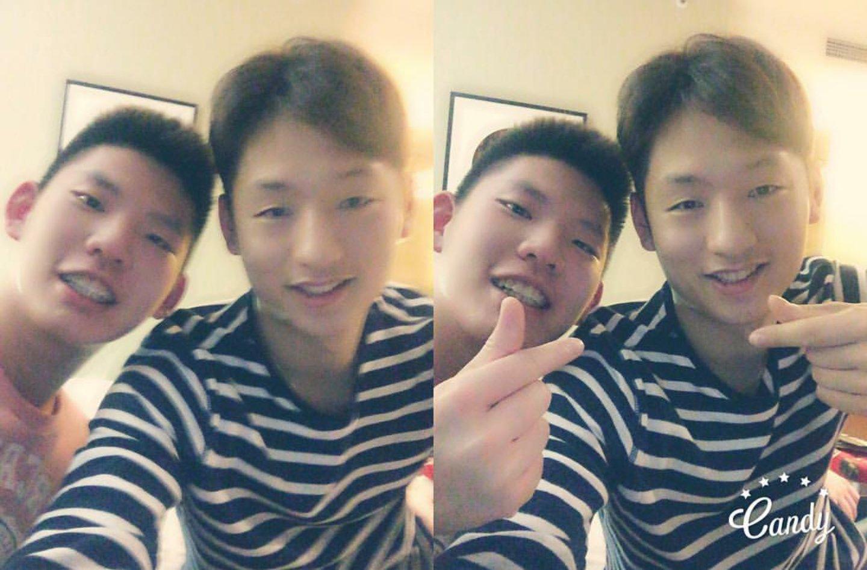 """Lee Yong Dae 국가대'œ 선수 on Twitter """"Choi Sol Kyu X Liu Yu Chen"""