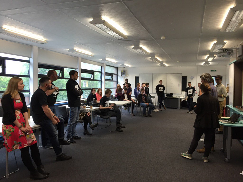 Our 2nd lab is underway! Really excited to get creative! #1215today #lab2 #lincoln #getcreative https://t.co/tfjNEEpsck