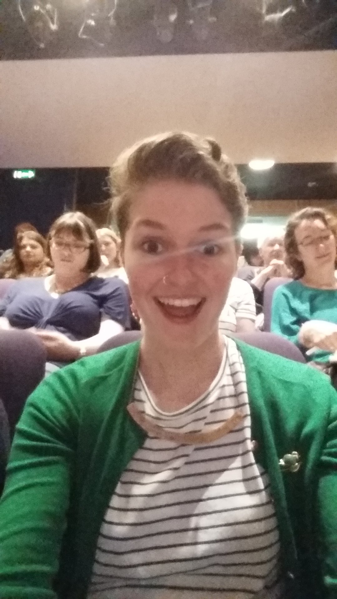 In the glorious Edinburgh for @WritelikeaGrrrl and @forbookssake first EVER #GrrrlCon and so darn excited omg https://t.co/9gpwbHybsg