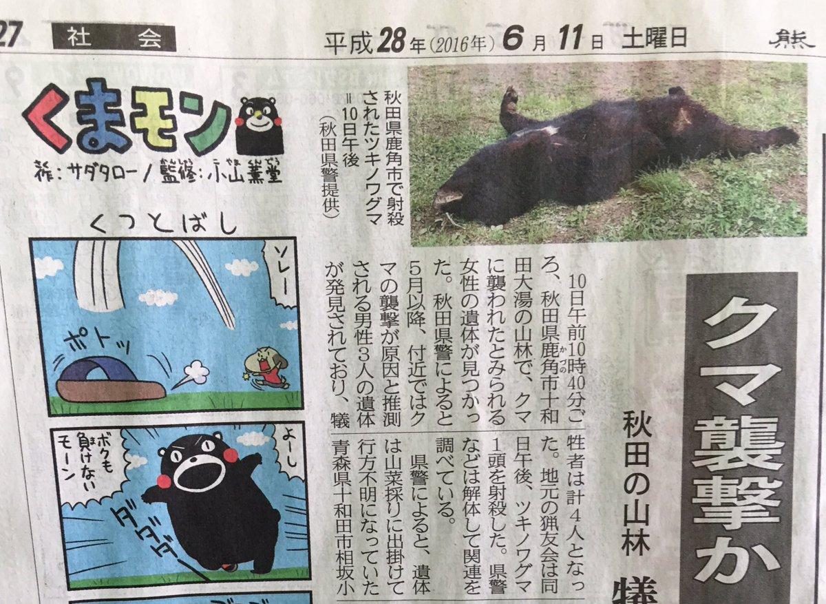 熊本の地元紙。 記事の配置を工夫したほうがよいかな。 https://t.co/zibSdFaapw