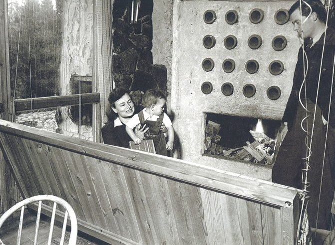 "Enrique Barrera on Twitter: ""The box. Ralph Erskine (1941-42) O la alianza  con el entorno #simbiosis #100x100masterhouses… """