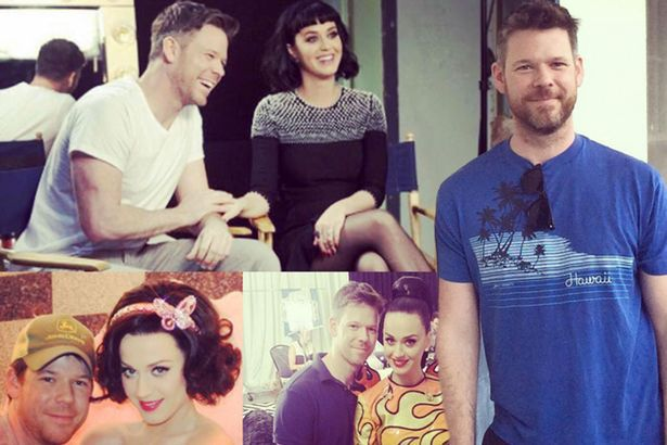 una foto di Jake Bailey con Katy Perry.