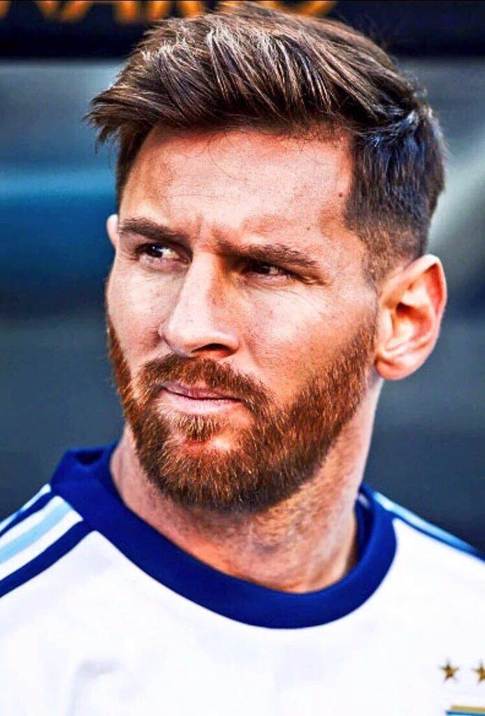 Messi If I Shave My Beard Teammates Will Kill Me