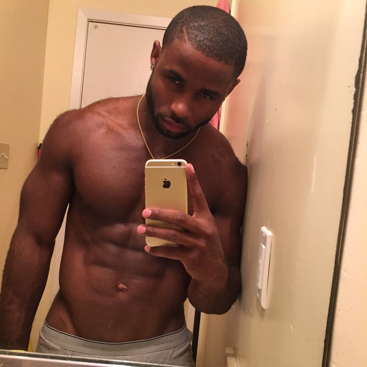 Black men with booty