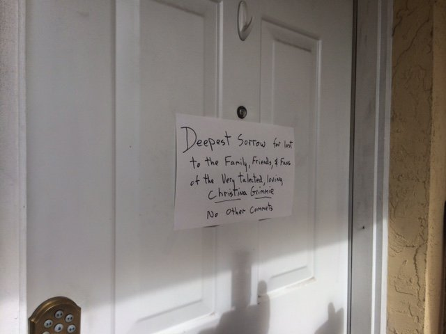 Karla Ray on Twitter  #BREAKING- this note on the door of Kevin Loiblu0027s family home in St. Pete- Police say he killed @TheRealGrimmieu2026   & Karla Ray on Twitter: