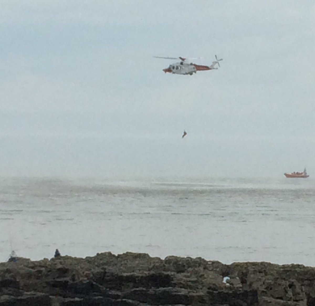 Porthcawl.  Training exercises. Yeah, cool. https://t.co/VT01WCIvFi