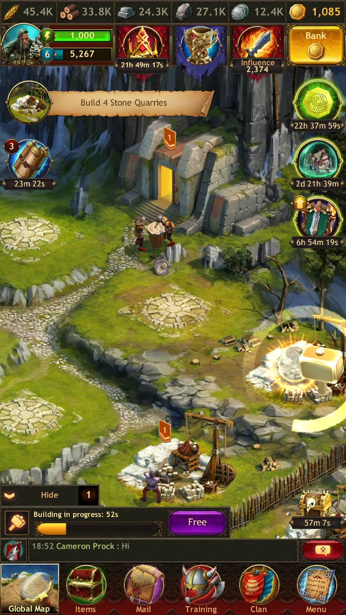 Vikings War Of Clans On Twitter Attention 18 Most Addictive Game