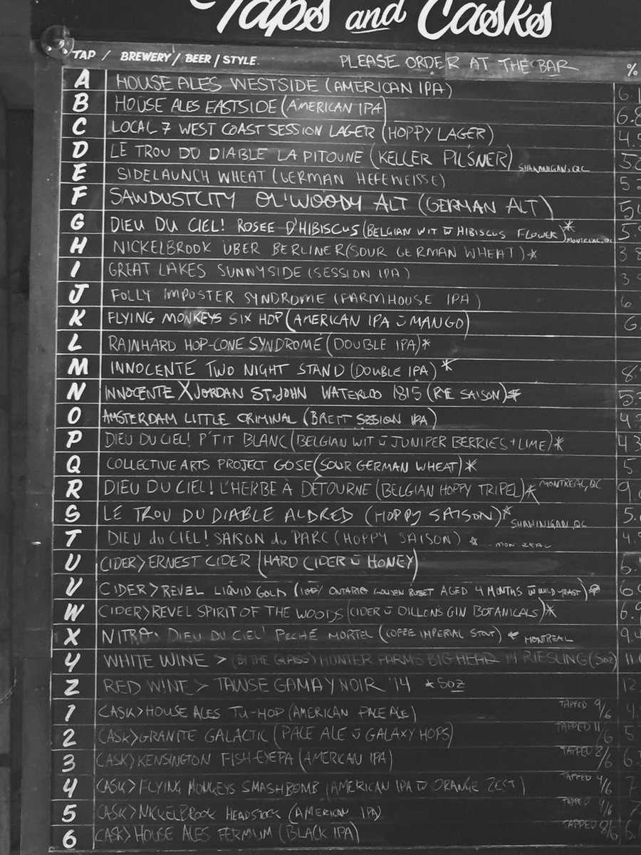 birreria volo on twitter saturday lineup just tapped