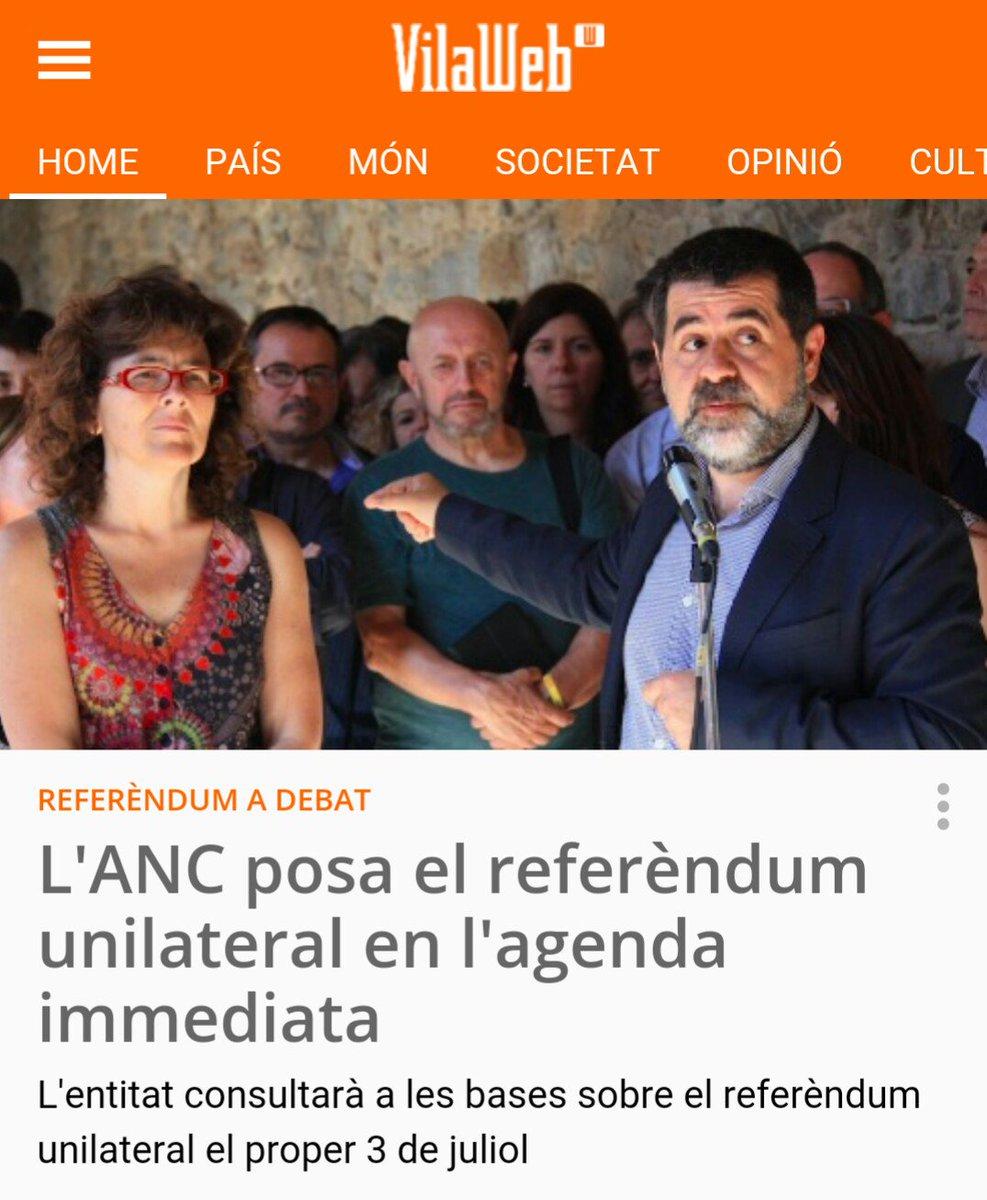 L'ANC posa el referèndum unilateral en l'agenda immediata!