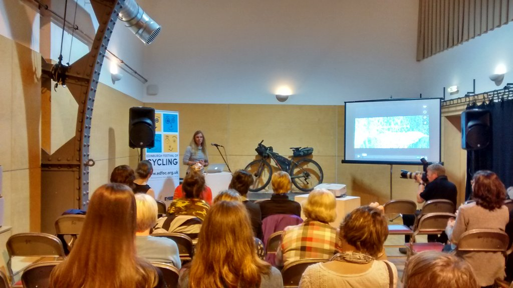 Brilliant start 2 Women's Cycling Forum Scotland #wcfslaunch inspiring  stuff from @leecraigie_  @adventuresynd https://t.co/h5oKApGN8K