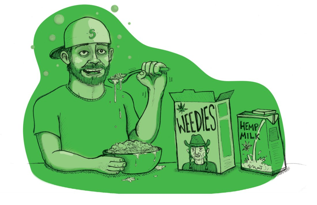 I Ate Only Cannabis-Infused Foods for Two Days. Here's What Happened.