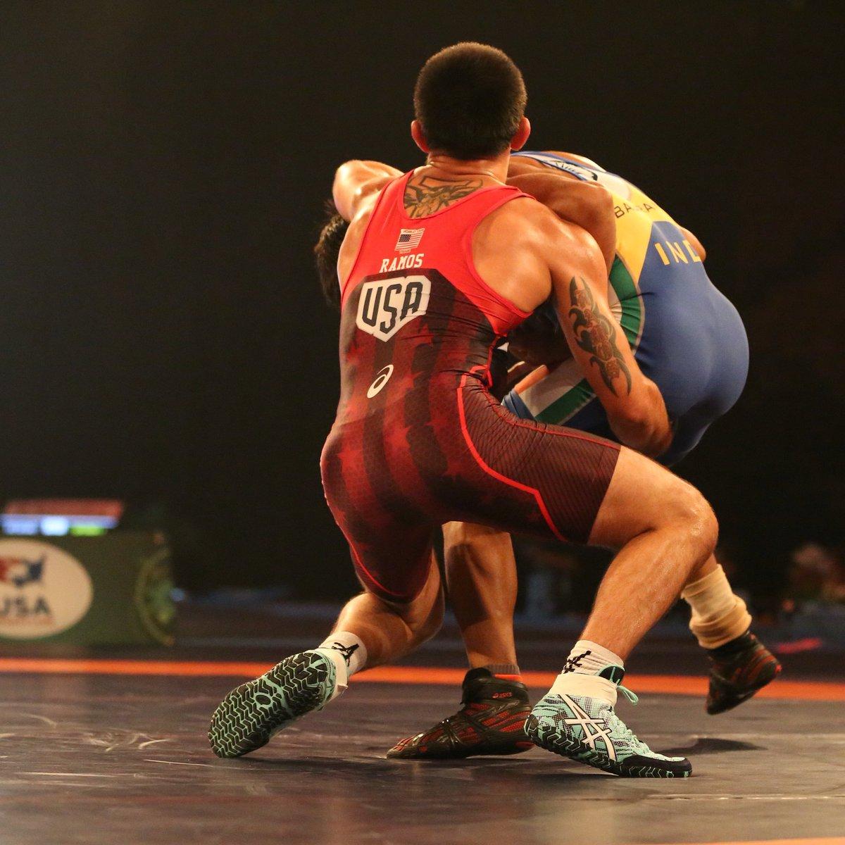 asics wrestling