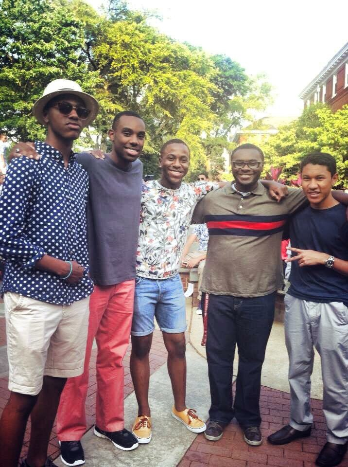 Here are some of my best homies circa freshman year. Morehouse. 2013. https://t.co/XW1VCFAUPQ