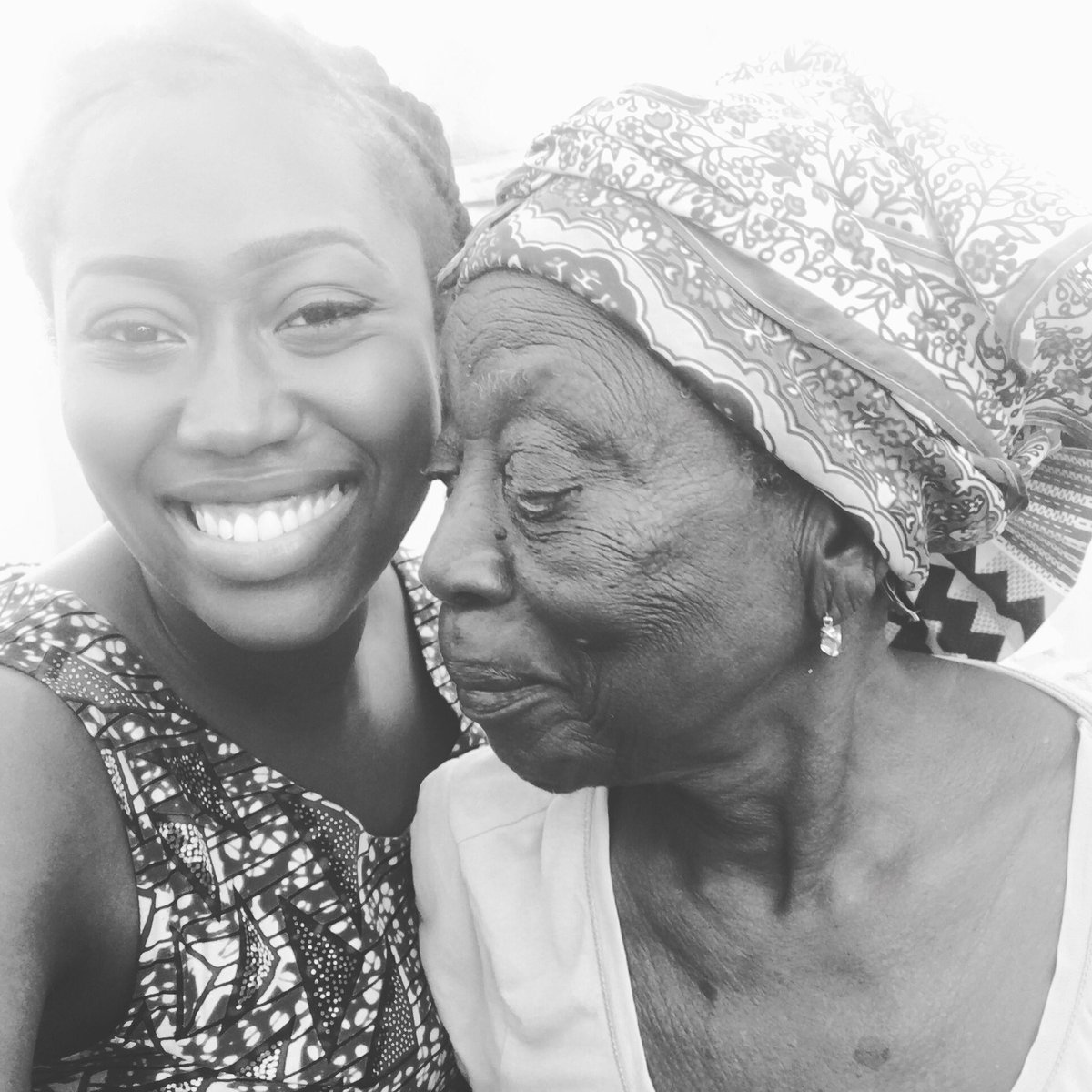 My great grandmother. 105 years old & still strong! Thank God for her life & I declare that I will live long too❤️