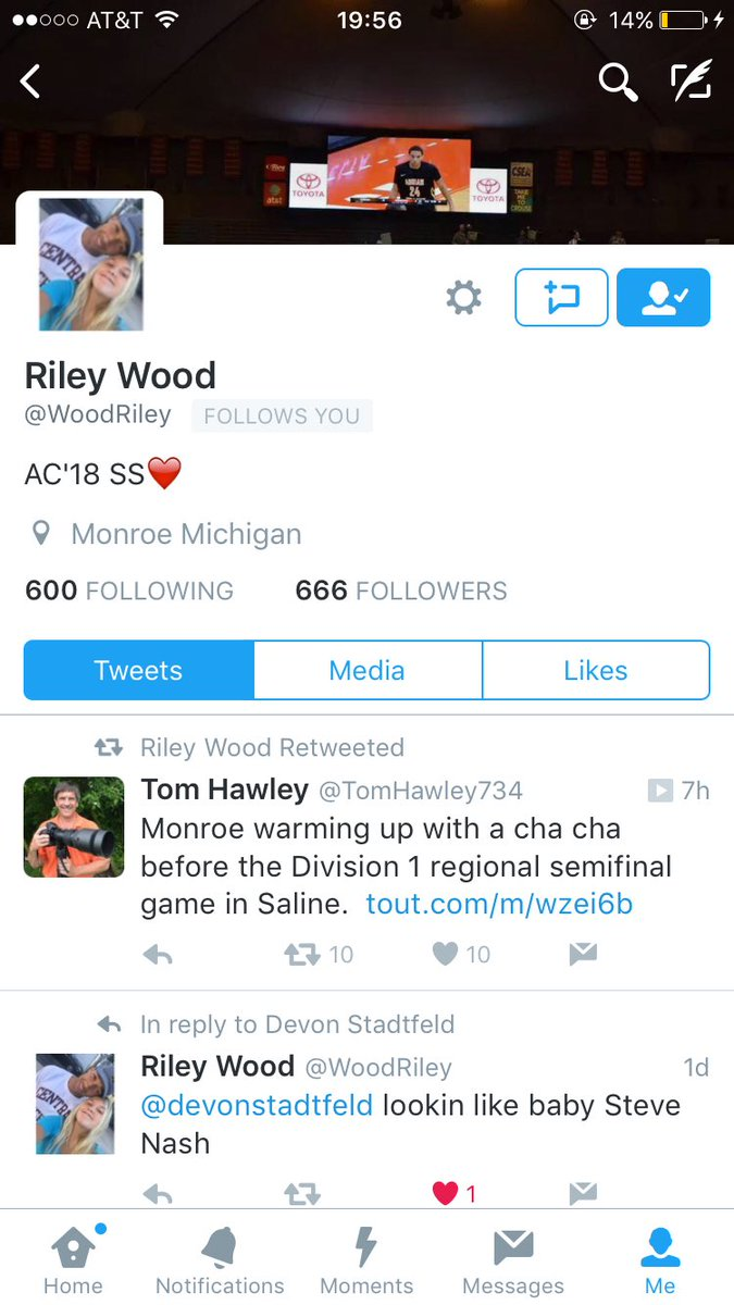 @WoodRiley I had to unfollow you for the sake of everything Holy.. You&#39;re welcome #no666 <br>http://pic.twitter.com/Gyl8jyaxvP