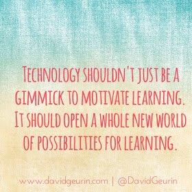 Moving beyond integration only. #EdTech @CathDigLearn #digitaltransformation #learningtransformed https://t.co/j5au3LkQyz