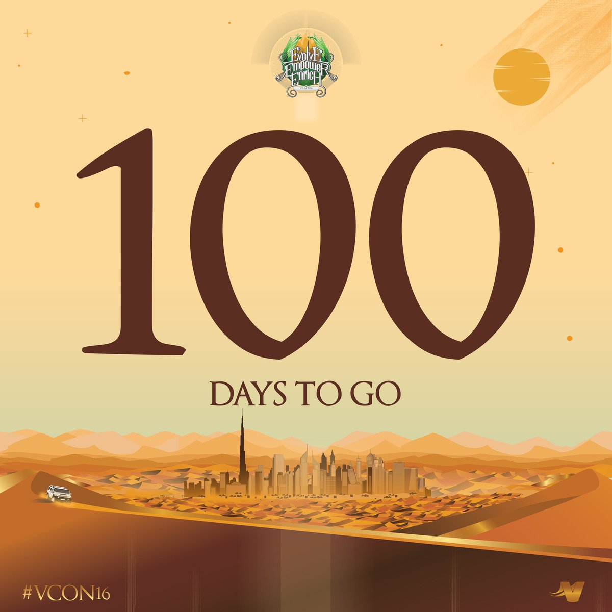 Get ready to experience the magic of #VCON16 in Dubai this coming 20 to 24 September 2016 at @HamdanSC!!! https://t.co/6ZtaeNlxZA