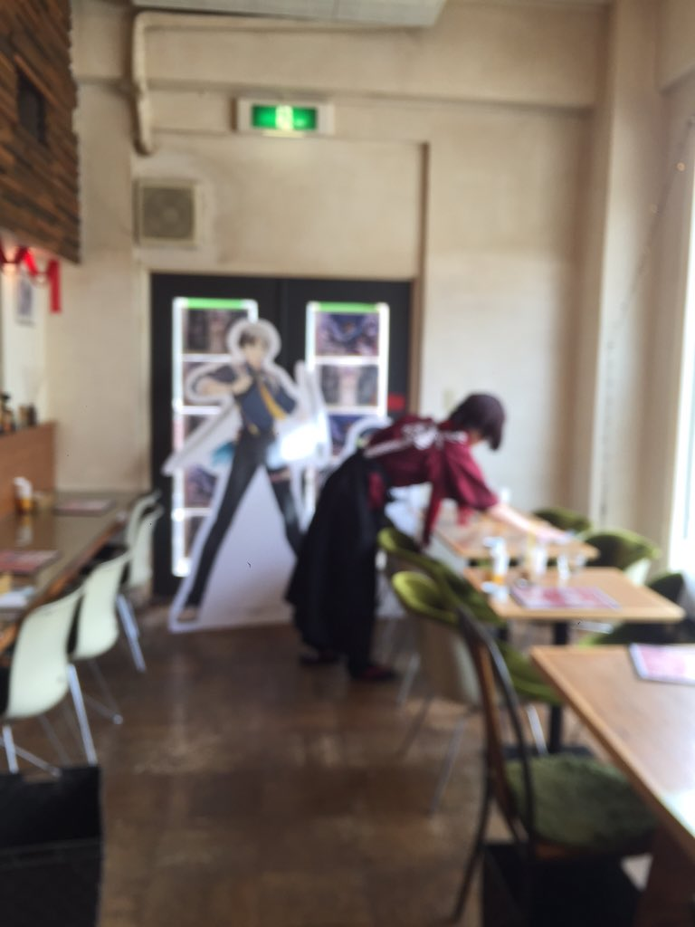 【15周年展Cafe】おや?このスタッフは??最終日にふさわしいサプライズをご用意しております☆#ufotable https://t.co/7UPXTtY7Yx