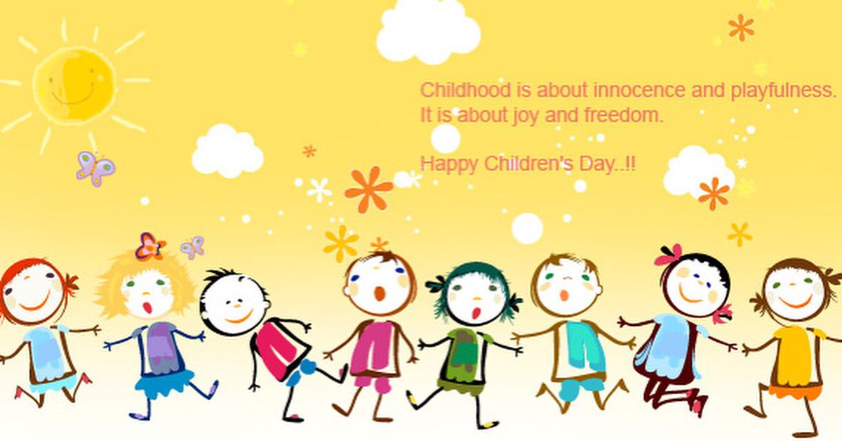 Happy Childrens Day Graphics #educratsweb - educratsweb blog  IMAGES, GIF, ANIMATED GIF, WALLPAPER, STICKER FOR WHATSAPP & FACEBOOK
