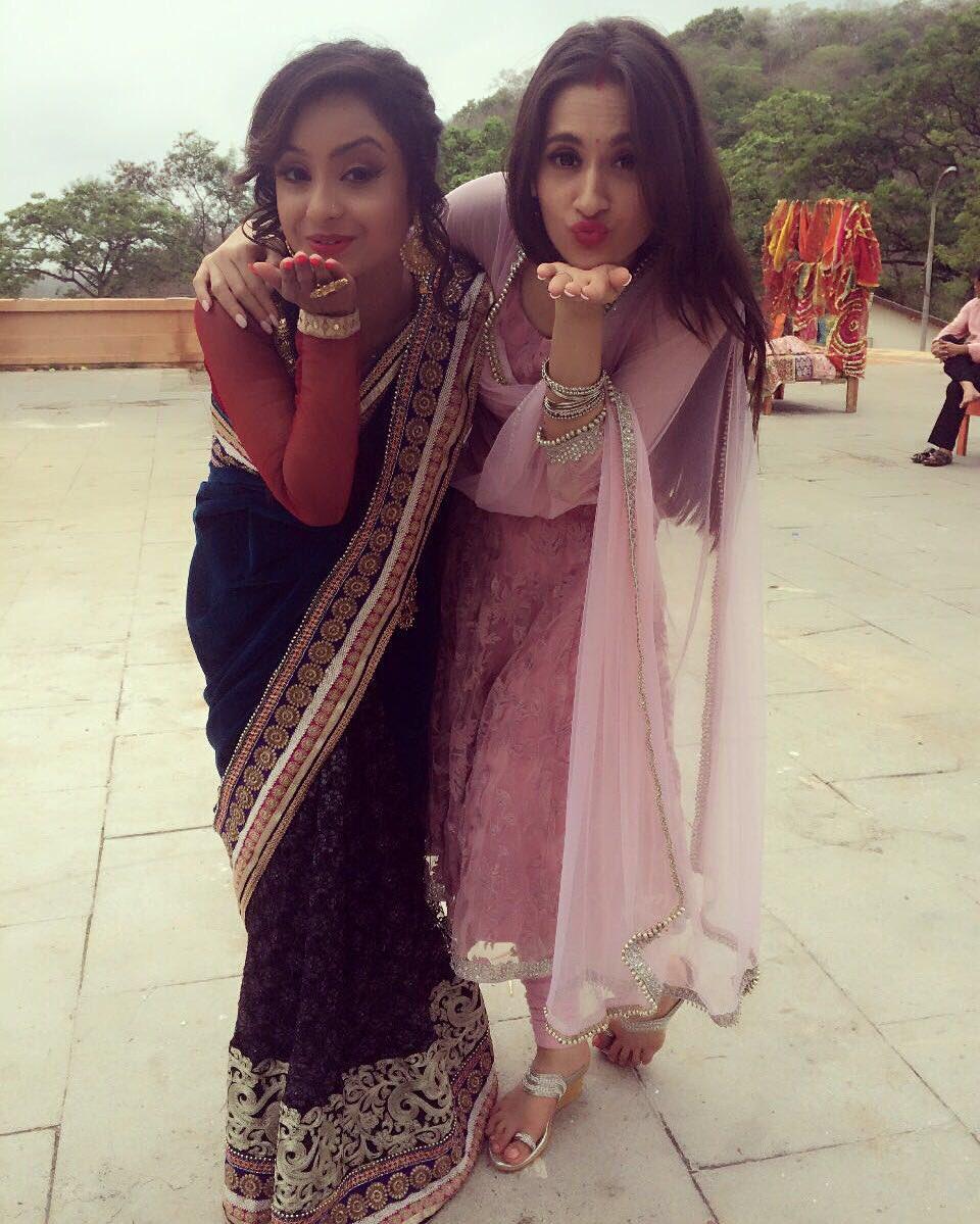 Ishita Ganguly and sanjeeda Sheikh aka Kamini and Dhaani