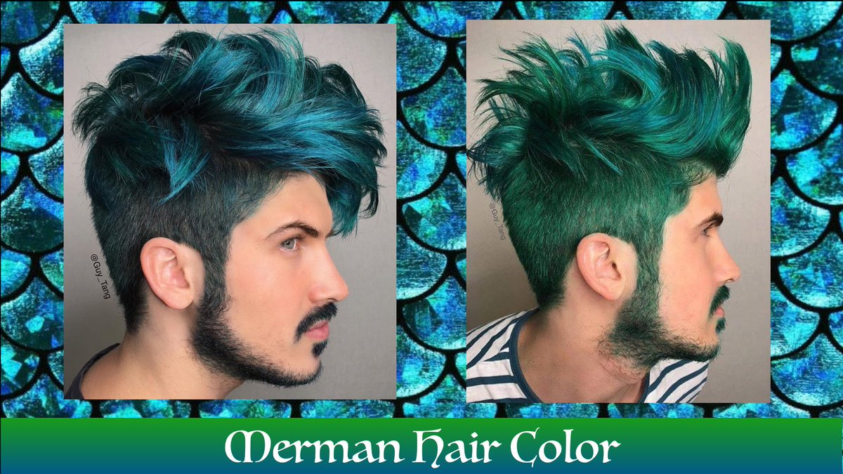 Guy Tang On Twitter Merman Hair Color Video Up On My Channel W