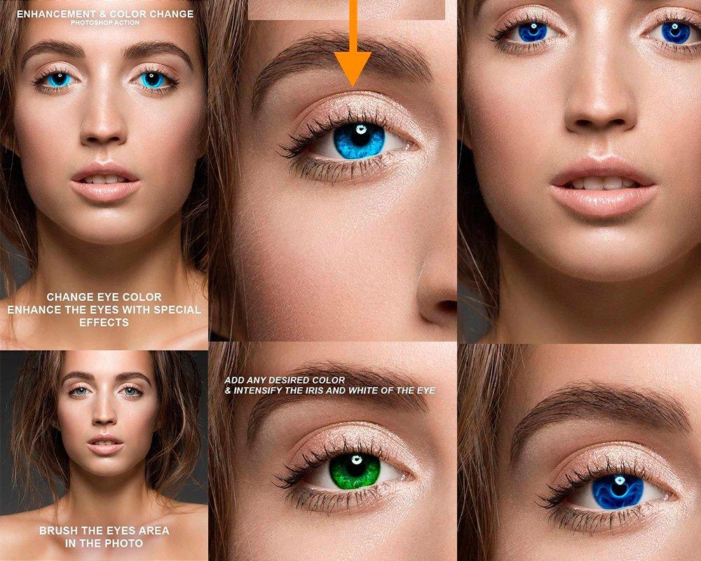 месяц фотошоп как сменить цвет глаз выборе размера термобелья