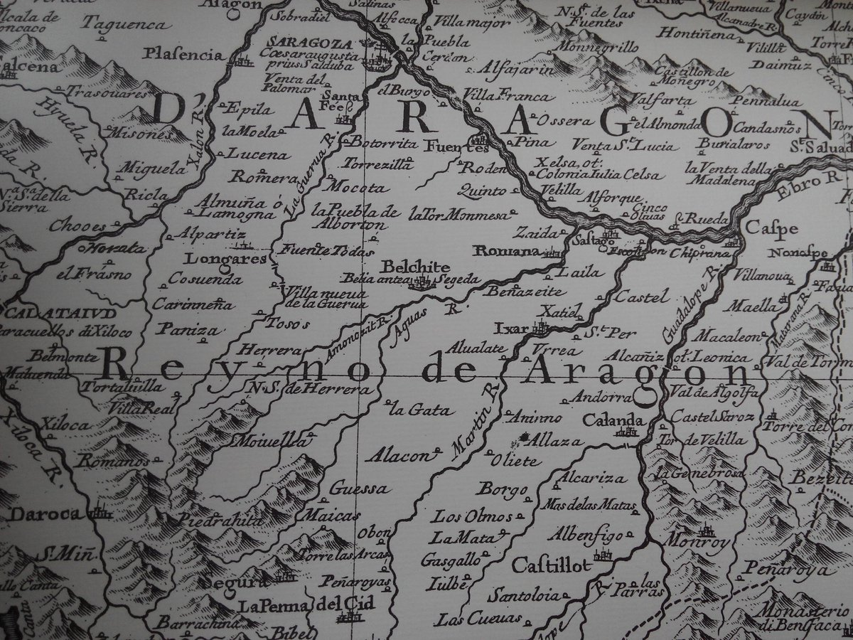 Map Of Spain Jalon.Vicky Hayward Spain On Twitter Mapping The Jalon Valley S Towns