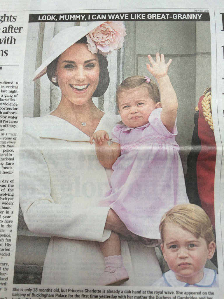 Meanwhile Prince George has mastered Charles's expression of desolate ennui at the thought of 70 more years of this https://t.co/9JXaIrY39b
