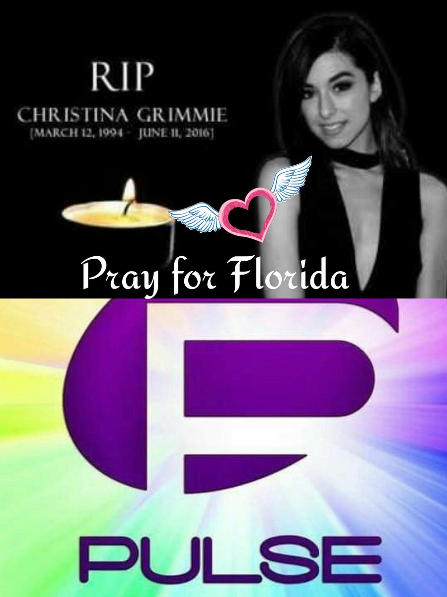 First Christina and now a mass shooting in a club in Florida, when will it end! #RIPChristina #PrayForFlorida https://t.co/FbhfIKT8Iq