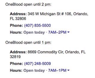 Orlando hospitals are currently in crisis mode and are accepting blood donations from anyone. Locations: https://t.co/qsKXDEj744