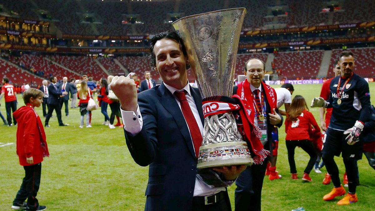 Image result for unai emery] europa league